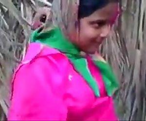 Indian Young Desi Village Girl Fucking Outdoor -..