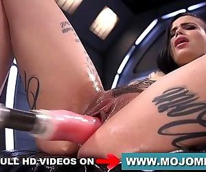 Fucking Machines Leigh Raven – more videos on mojomet.com