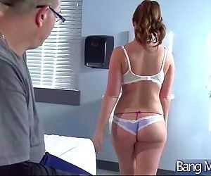 Doctor And Patient Practice Hard Sex In Cabinet vid-21
