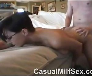 Sexy milf pussy fucked at home vid 2CasualMilfSex.com