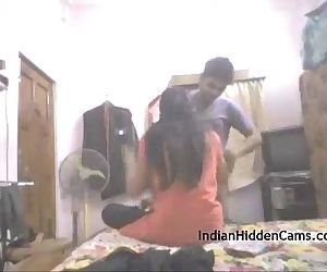 Real Indian College Couple Amateur Homemade Sex -..