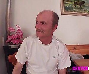 German Old men young GirlHD