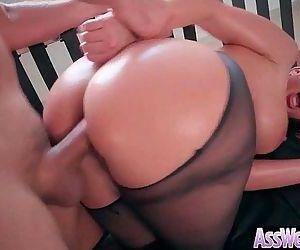 Anal Hardcore Sex Tape With Slut Big Curvy Ass Girl vid-15