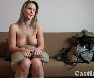 Casting HD Fit blonde goes all the way in castingHD