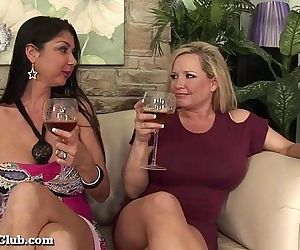 Horny Housewives Gangbang A Random Guy!HD