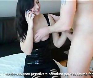 Hot Brunette Babe Banged By Fuckfriend With Cum Shot