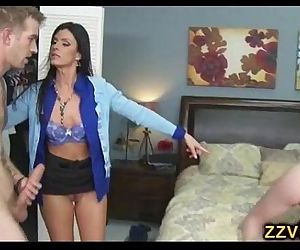 India Summer threesome hot fuck