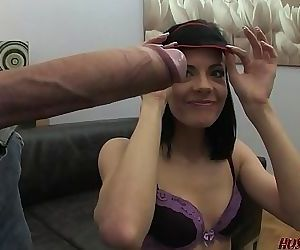 Huge cock anal for Euro babe Aliz 15 min HD+