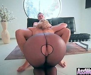 Big Butt Girl Get Oiled All Over And Hard Anal Nailed..