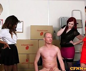 Mean femdom group fun with Kiki MinajHD
