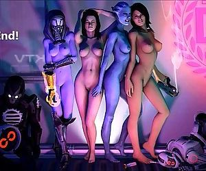 Mass Effect Girls Sexy Gifs - 13 min