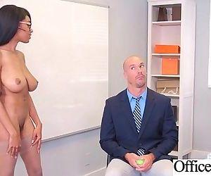 Sex Scene In Office With Slut Hot Busty Girl video-05