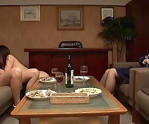 JAV Secret Prison CFNF lesbian cunnilingus HD Subtitled 3..