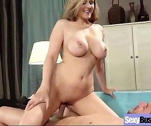 Mature Big Tits Lady Like To Suck And Bang With Monster..