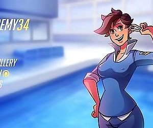 Sinfully Fun Games Overwatch Academy34 19 min HD+