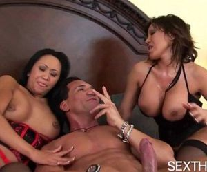 Kitty Langdon and Ava Devine Give Head and Anal Fucked -..