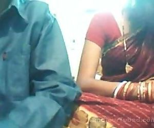 Indian young couple on web cam - 5 min