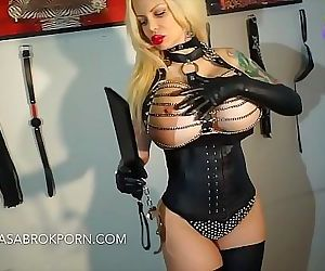 Sabrina Sabrok female domination fucking and sucking dick..