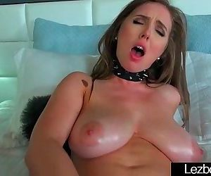 Teen Lesbian Girls Lick And Play On Camera clip-21