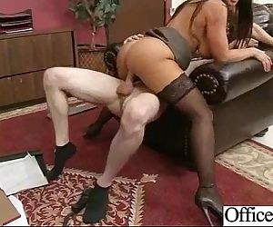 Sex In Office With Big Melon Juggs Nasty Girl movie-23