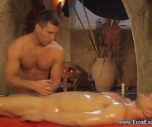 Come and make me satisfied with your gentle massage into..