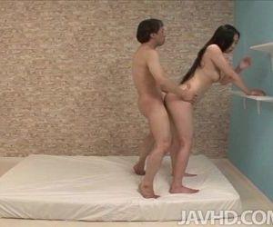 Horny Yuuka Tsubasa and a friend practice a variety of..