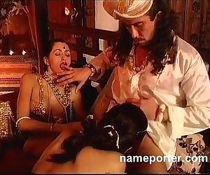 La Kamasutra--Erotic French threesome scene - 17 min