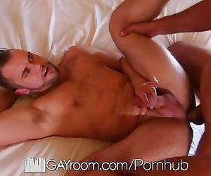 GayRoom Hotel massage fuck with hunks Blaze Austin and..