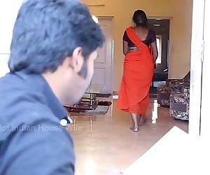 Tamil aunty romance fuck - 3 min