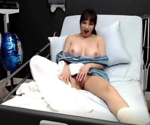 CamSoda - Day 1 - Lexi Luna Hospital Big Tits Masturbation..