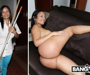 BANGBROS - Latina Maid Casandra Sucks Peter Greens Dick..