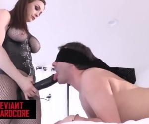 Deviant Hardcore - Dom Chanel Preston pegs sub man