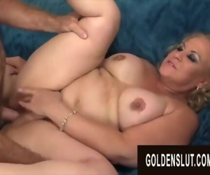 Golden Slut - Thick Blonde Grandma Summer Compilation Part 1