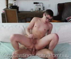 GayCastings Casting Agent Pounds Multiple Tight Asses
