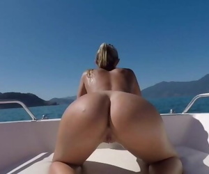 Boat Summer Anal Sex - Prone Bone, Outdoor Sex, Dogstyle,..