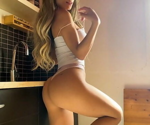 I want you to Fuck me on the Counter Passionately