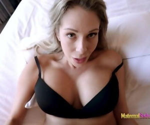 Step Mom Shows me her new Tits and Lets me Fuck her -..