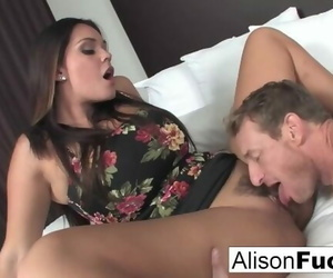 Alison Hires a Friend for the Evening who gives her a Good..