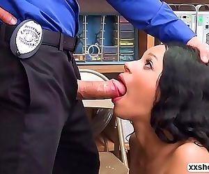 Amethyst Banks shoplifting gets her fuck 6 min HD