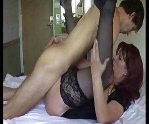 Hot Mom Fucking with son - 2 min