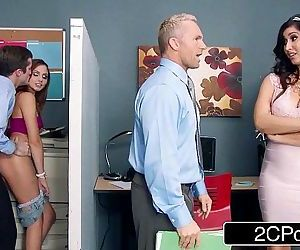 Stepmom Catches Her Stepdaughter Fucking a Co-Worker..