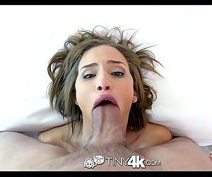 4K HDTiny4K Teen Natasha White loves huge cockHD
