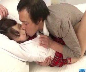 Dashing threesome along schoolgirl Shiori Uta - 12 min