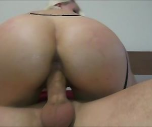 Big ass rides a dick close-up Helena Moeller