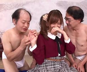 Erito - Japanese Teen Girl Gets Molested by Little Beasts