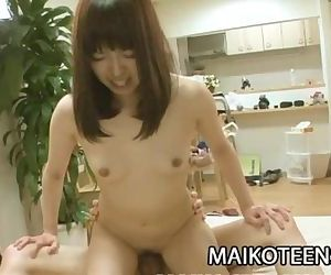 Misato Uemoto - Banging That Tight Japanase Teen Vagina