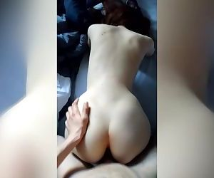 Just me fucking my nice ass girl before going to school.