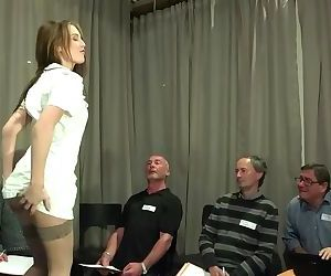 Old Young Porn Teen Gangbang by Grandpas pussy fucking..