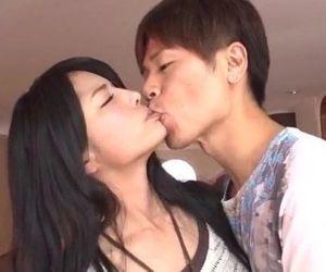 Serious porn session with brunette Eririka Katagiri - 12 min
