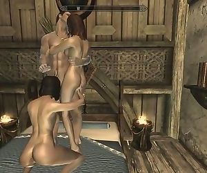 Skyrim: Sex With My Wife & Steward